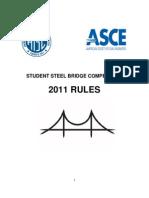 Steel Bridge Rules 2011