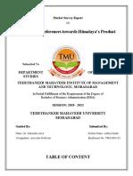 Aditya Market Survey Report