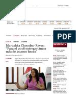 Marushka Chocobar Reyes_ 'Para el 2018 entregaríamos más de 20,000 becas' _ Economía _ Gestion
