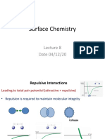 Surface chemistry