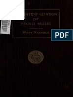 The Interpretation Of Piano Music (By Mary Venable) (1913).pdf
