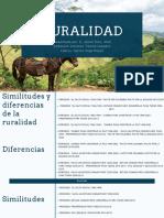 Modelos- Ruralidad