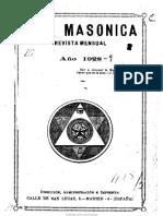 Vida masónica. 3-1928