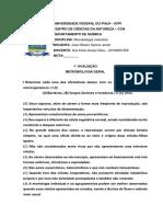 1°AVALIAÇÃO_ANA