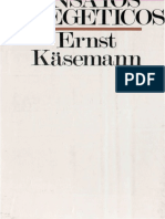 ERNST KASEMANN - Ensayos exegeticos