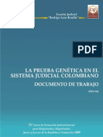 La prueba genética en el Sistema Judicial.pdf