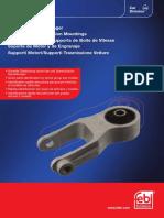 FEBI КАТАЛОГ Опоры крепления двигателя и коробки передач 2017 (PDF)