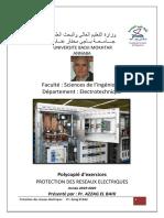 Recueil dexercices dapplication Protections des réseaux électriques