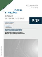 IEC 60050-151-2001 amd2-2014