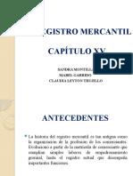 EL REGISTRO MERCANTIL sandra