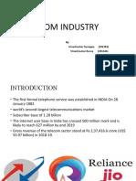 Telecon industry