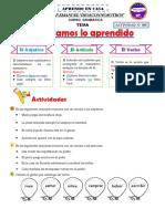 ACTIIVIDAD Nº 305 - Repasamos lo aprendido - Gramática.pdf