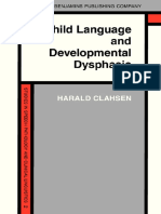 Child Language and Developmental Dysphasia_ Linguistic studies of the acquisition of German ( PDFDrive )