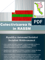 Colectivizarea in RASSM