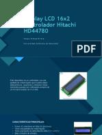 Display LCD 16x2 controlador Hitachi HD44780