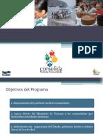 Presentación 2. Programa Consolida Turismo Comunitario I