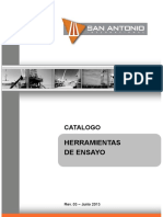 SAI - Catalogo Herramientas de Ensayos - Rev 03