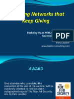 Building Networks That Keep Giving - Haas - Feb2011