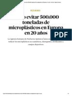 Residuos _ Cómo evitar 500.000 toneladas de microplásticos en Europa en 20 años - El Salto - Edición General