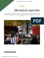 Opinión _ Sobre la libertad de expresión - El Salto - Edición General