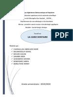 expose bacteriologie clinique,  la carie dentaire.pdf
