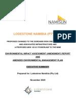 Lodestone EIA Amendment Report_Mine_5Nov20 IAP review final1 Exec Summ