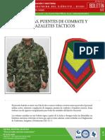 BOLETIN 12 INSIGNIAS, PUENTES DE COMBATE Y BRAZALETES TACTICOS.pdf