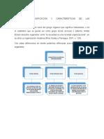 CONCEPTOS, CLASIFICACIÓN Y CARACTERÍSTICAS DE LAS ORGANIZACIONES.docx