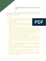 La Calidad Humana de Crepes (Documento Presentacion Comportamiento Organizacional)