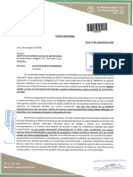 Carta Notarial de Military &Outdoord Products