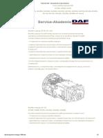 Типы КП DAF - Автозапчасти и автоХитрости