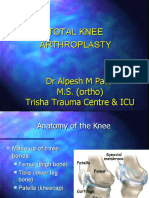 knee replacement Dr Alpesh