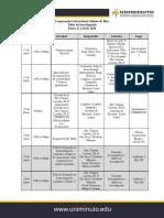 Agenda inducción docentes investigadores-Taller de investigación