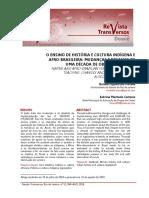 O ensino de história e cultura indígena - revista transversos.pdf