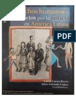 Jairo Antonio Lopez - Justicia frente a la barbarie, Ong, víctimas y escándalo político mediático por los falsos positivos en Colombia