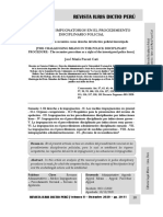 Los Medios Impugnatorios en El Procedimiento Disciplinario Policial - Autor José María Pacori Cari - Lp