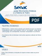 HT - Aula 08 - Teatro Romano