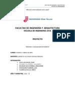 Formato de Presentacion de Proyecto [Modelo de Informe FIA]