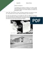 2) Investigar la Historia del Tecnologica Nacional de México