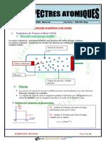 Cours - Physique - Spectre atomique - Bac Sciences exp (2019-2020) Mr Barhoumi Mourad