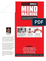 2 brochure  -  Mind Machine with Full Details