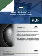 SG MDR Service Presentation PPT