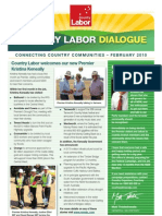 Country Labor Dialogue - February 2010