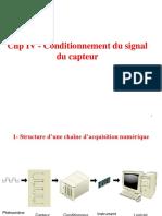 Chp IV - Conditionnement du signal du capteur.pdf