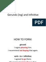 gerund infinitive