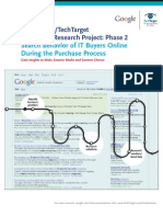 The Google_TechTarget_search behavior of ITbuyers online