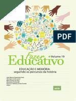 Coleção Fazer Educativo Volume 19