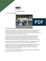 08-02-11 - Universidad de Puerto Rico ocupada por la policía