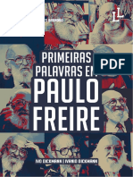 eBook PFreire Primeiras Palavras Em Paulo Freire