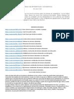 TALLER # 2  MATEMÁTICAS Y ESTADÍSTICA 8.2 8.4 8.5